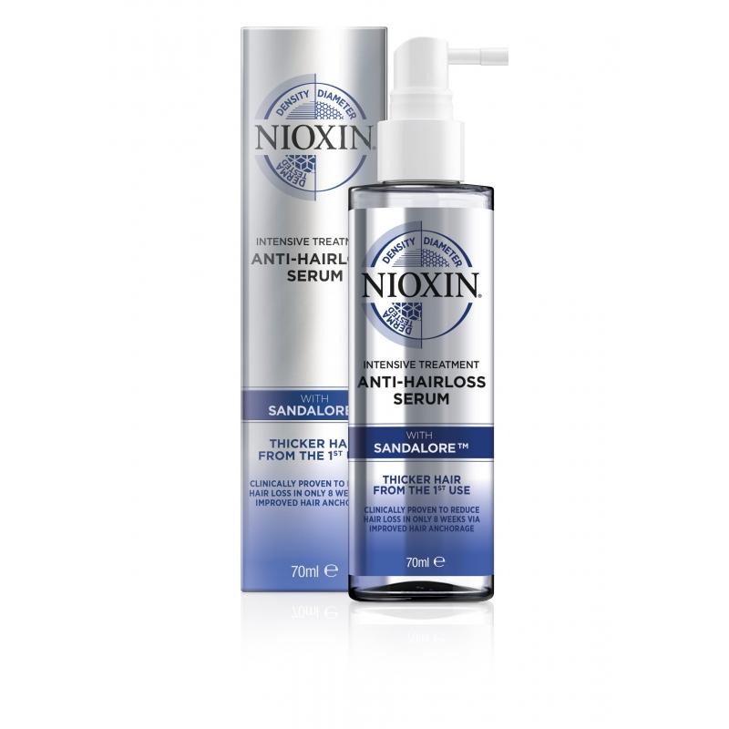 Nioxin anti hair loss serum...